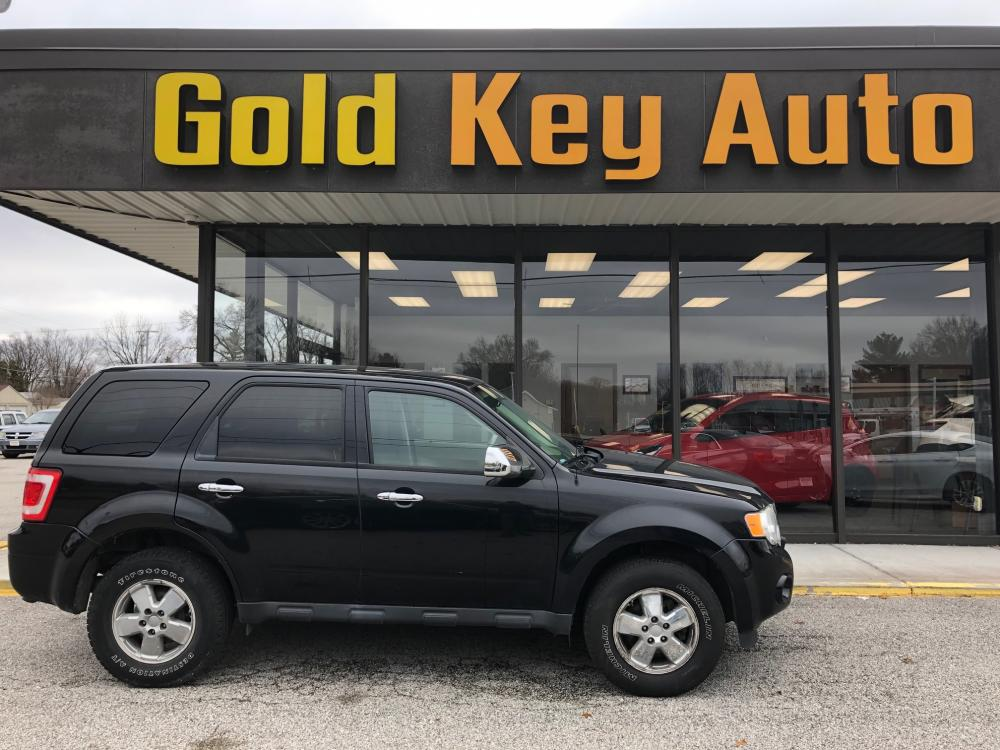 2011 Black Ford Escape (1FMCU0C70BK) with an 2.5L L4 DOHC 16V engine, located at 1633 W Kimberly, Davenport, 52806, (563) 323-5341, 41.559456, -90.598732 - Photo #0