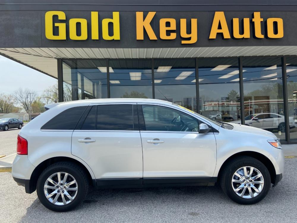 2013 Silver Ford Edge Limited AWD (2FMDK4KC1DB) with an 3.5L V6 DOHC 24V engine, 6-Speed Automatic transmission, located at 1633 W Kimberly, Davenport, 52806, (563) 323-5341, 41.559456, -90.598732 - Photo #0